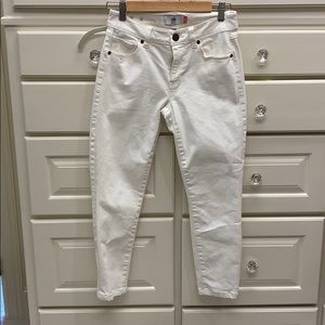 Cabi High Skinny white jeans size 2